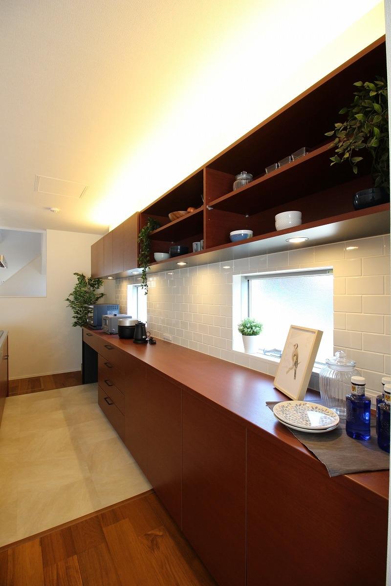 刈谷市高須町建売住宅 カップボード