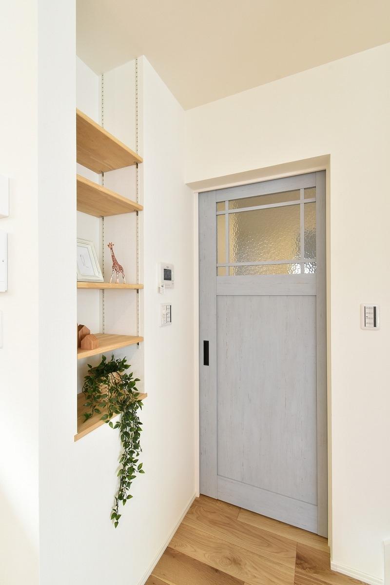 岡崎市 注文住宅 リビングドア