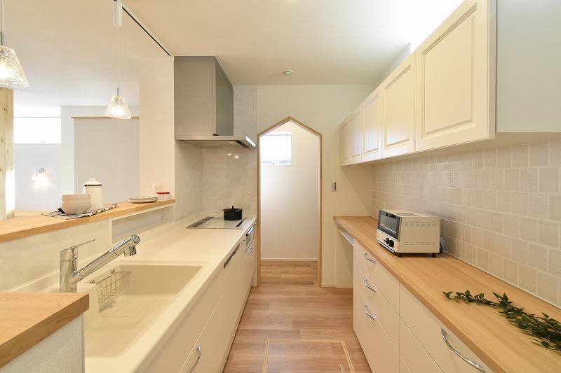 岡崎市 注文住宅 キッチン