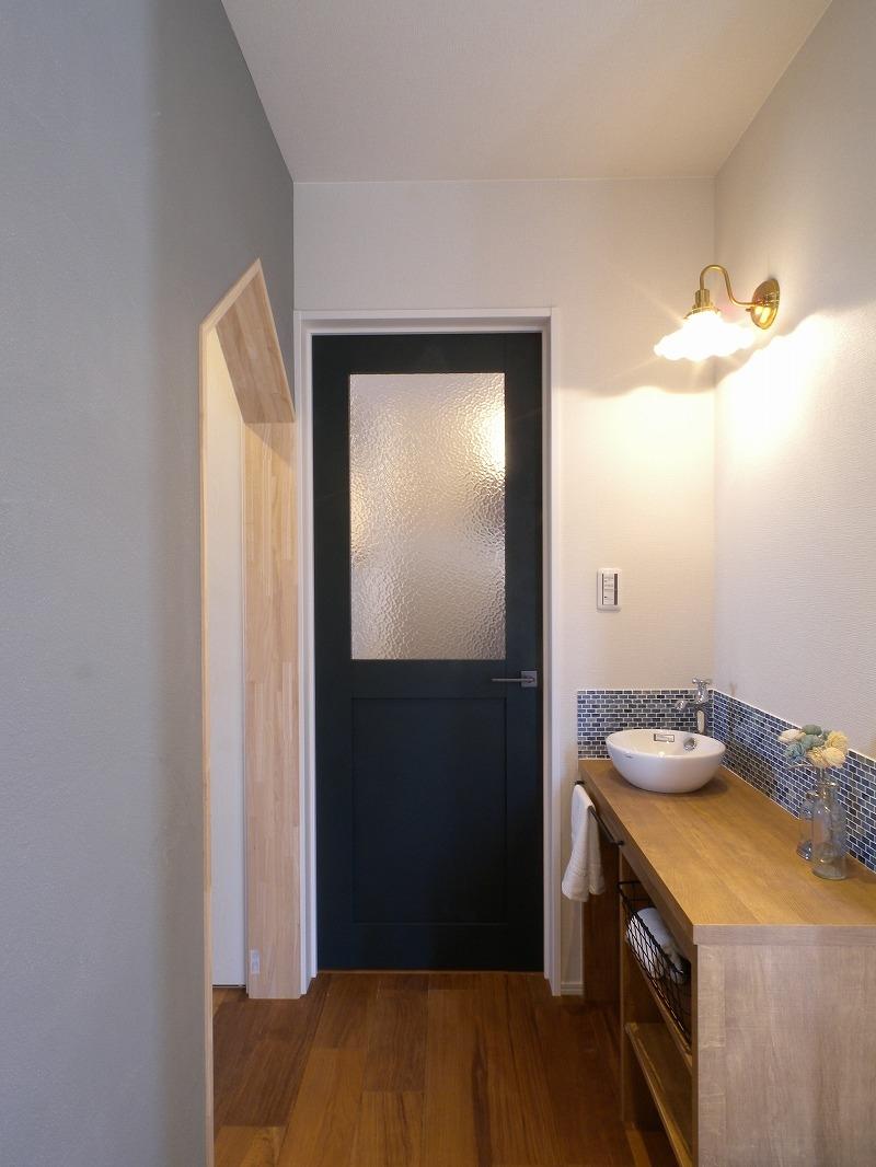 刈谷市高須町モデルハウス 玄関手洗い