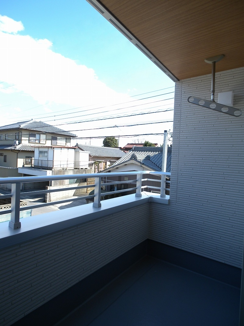 刈谷市高須町モデルハウス バルコニー