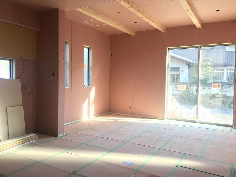 刈谷市高須町モデルハウス 内壁