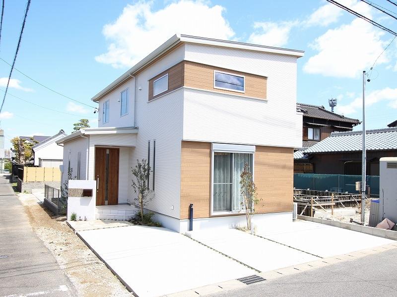 刈谷市高須町モデルハウス 外観