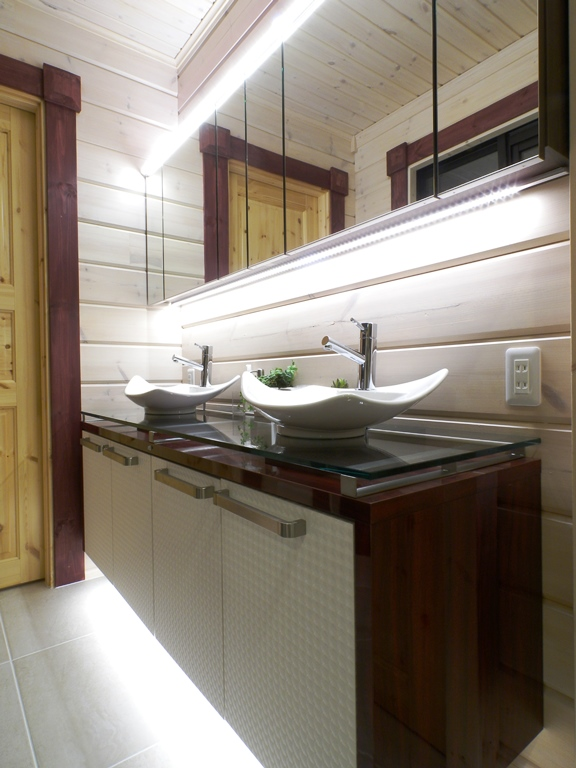 オーダーキッチン洗面化粧台